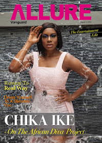 Actress Chika Ike Covers Vanguard Allure's Latest Issue