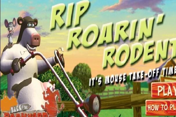 Rip Roarin Rodent Back at the Barnyard Game