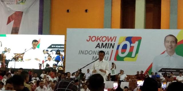 Jokowi Optimistis Raih Suara Terbanyak di Sulsel