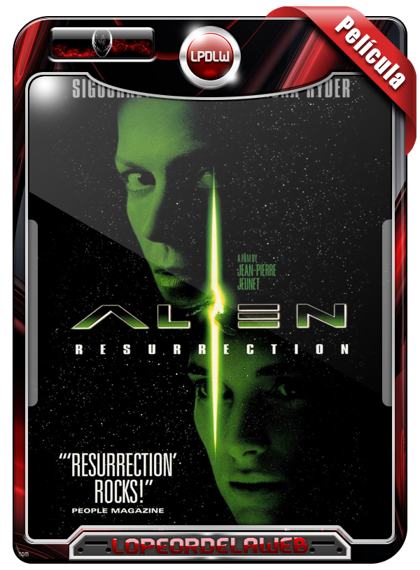 Alien: Resurrection (1997) | Alien 4: La Resurrección [720p]