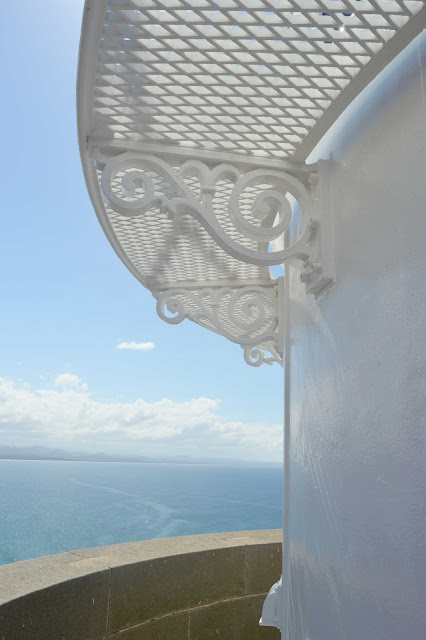 detail of byron bay lighthouse