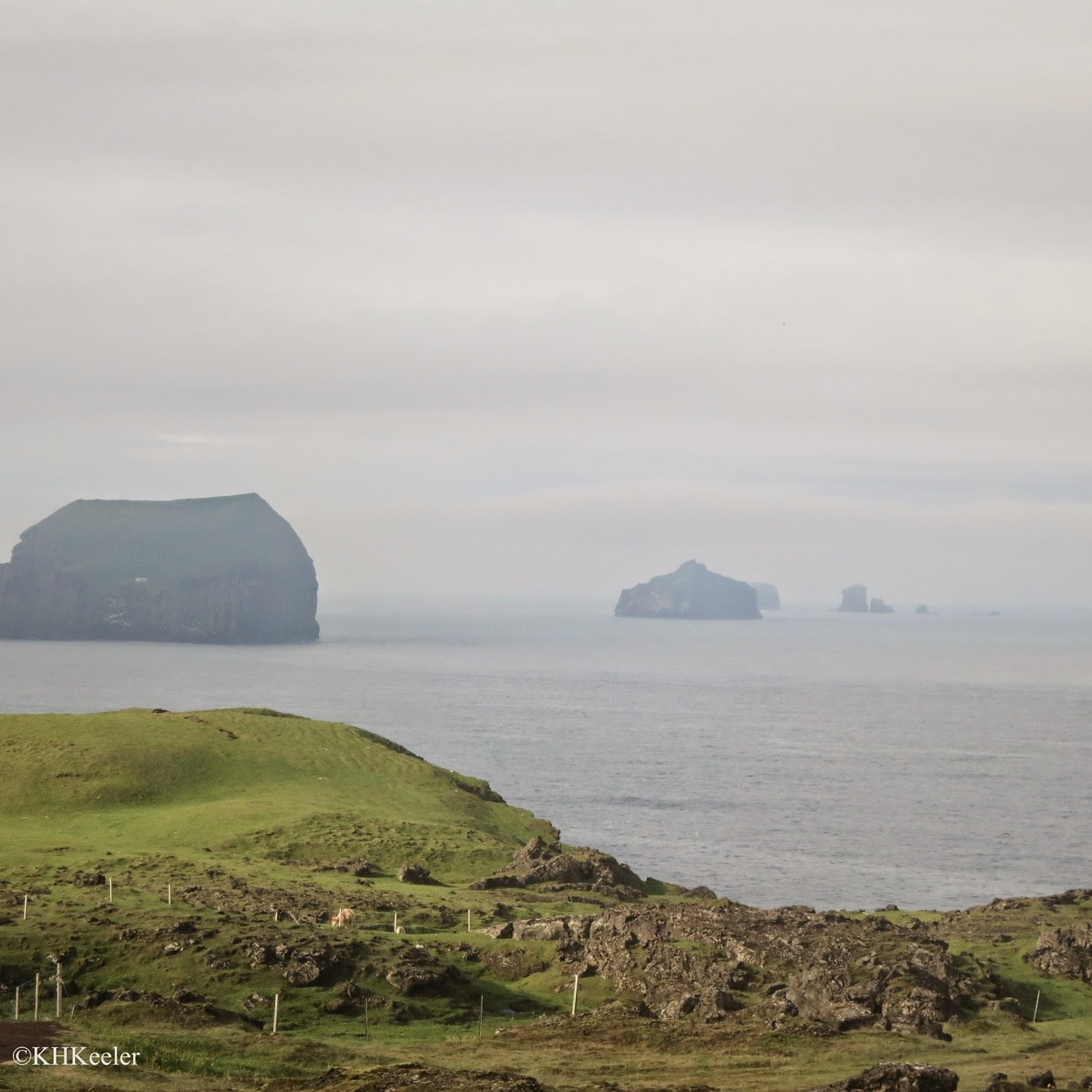 Chain of New Islands SW of Westman Islands