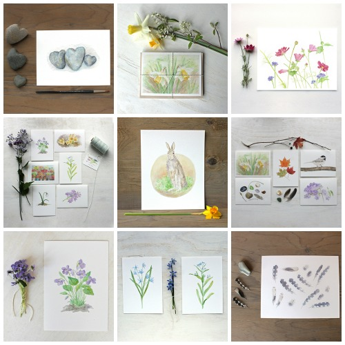 Buy Prints and Cards ❀