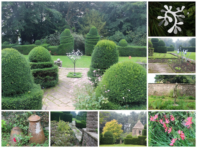 Garden and sculpture views at Wyndcliffe Court