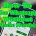 HOW TO USE WHATSAPP WITHOUT PHONE NUMBER/SIM CARD