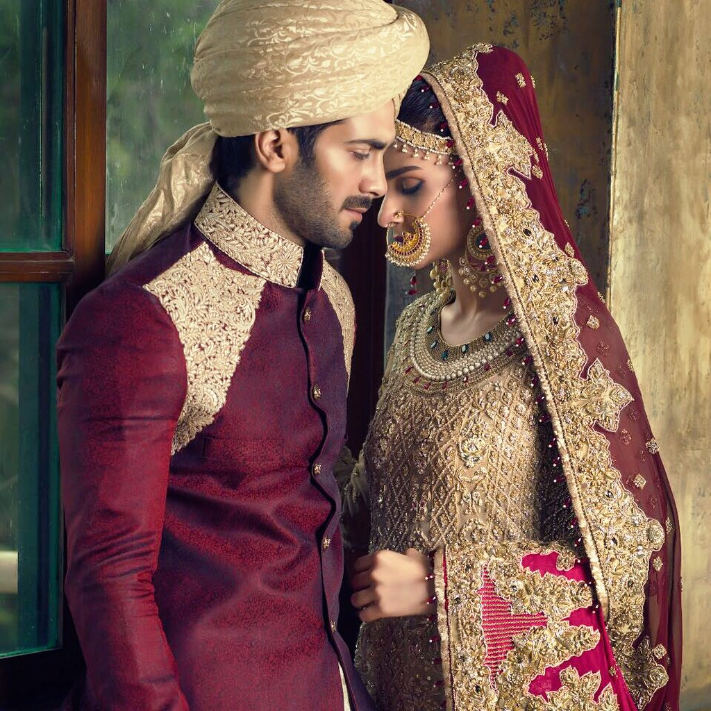 4b7e0b2c12 Most demanded Pakistani actress Saba Qamar Stuns in her latest bridal shoot  for Vogue India.