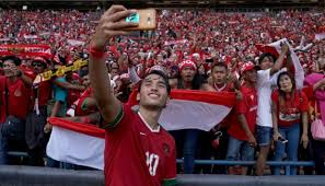 Suporter Timnas Indonesia Padati Stadion Shah Alam Selangor