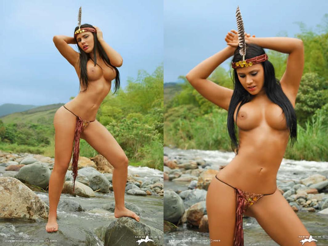 Gordita colombiana con tetas de plastico muestra su cuerpo - 2 1