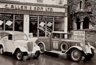 C Allen & Sons Ltd garage forecourt image 01