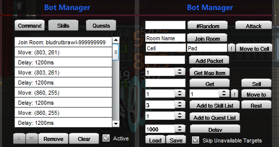 Legion combat trophy bot