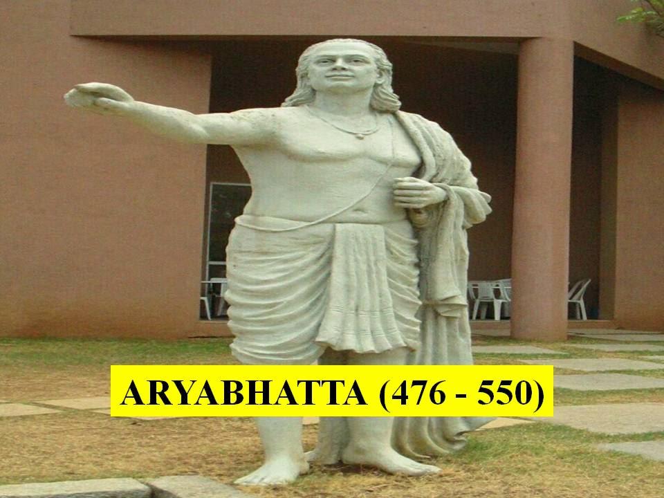 MATHEMATICIANS CONTRIBUTIONS MODULE 1 - ARYABHATTA