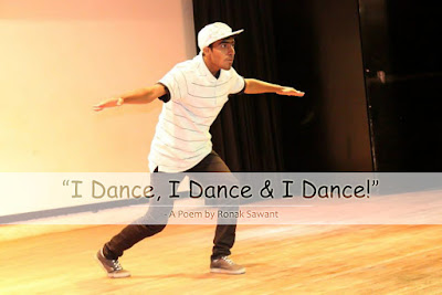 Cover Photo: I Dance, I Dance & I Dance! - A Poem by Ronak Sawant