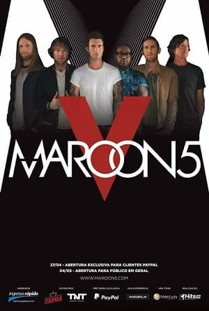 Maroon 5 Dia 2 - Rock in Rio Filmes Torrent Download capa