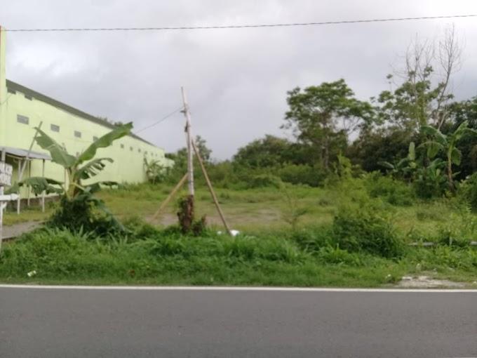 Tanah pekarangan strategis Kawasan Industri pabrik pinggir jalan utama candi sambisari kalasan
