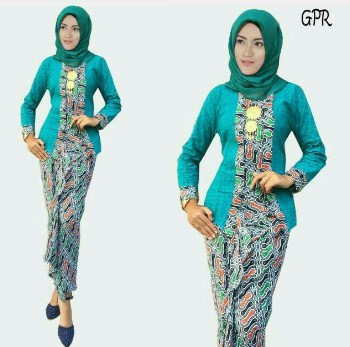 77 Model Baju Batik Muslim 2019 Modern Terbaru Remaja Kekinian
