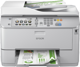 Epson WorkForce Pro WF‑5690DWF driver download Windows, Mac