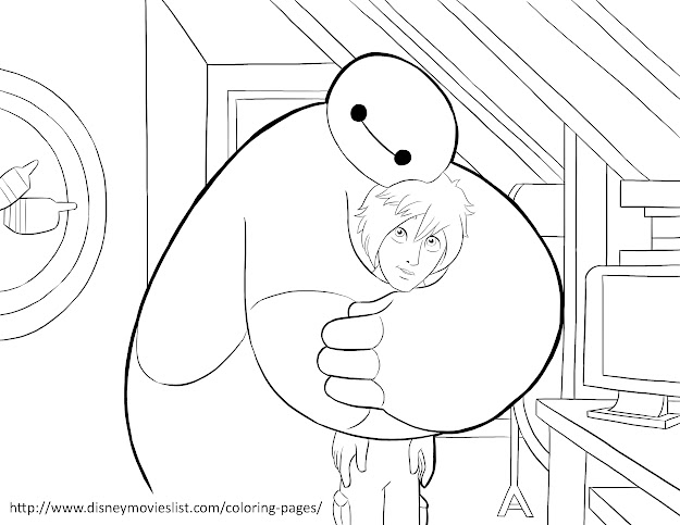 Big Hero  Coloring Pages