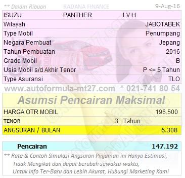 Pinjaman-147-3Thn-ISUZU-PANTHER-LV H