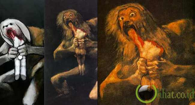 Saturn Devouring His Son