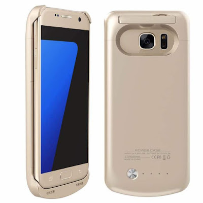 External Battery Case Cover - Portable Power Bank - Samsung Galaxy S7