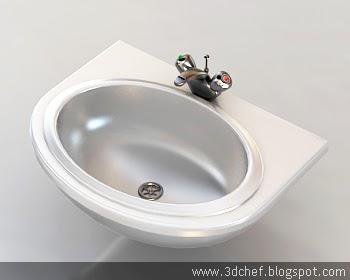 Kitchen Sink D Model Free Download