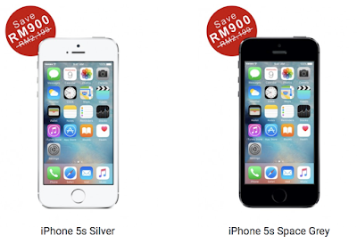 Apple iPhone 5s 16GB Silver Space Grey Stock Clearance