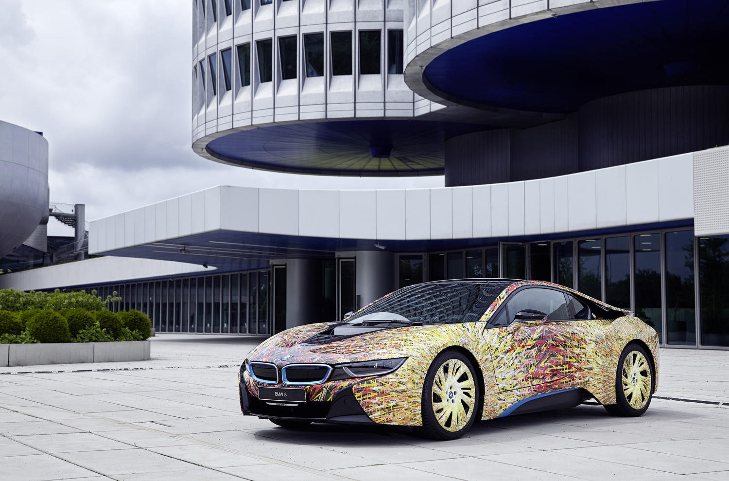 Garage Italia Customs Makes A Special Bmw I8 Carscoops