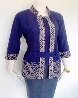 Model Baju Batik Bu Guru