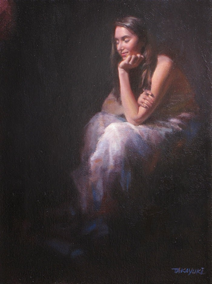 Масляная живопись. Takayuki Harada