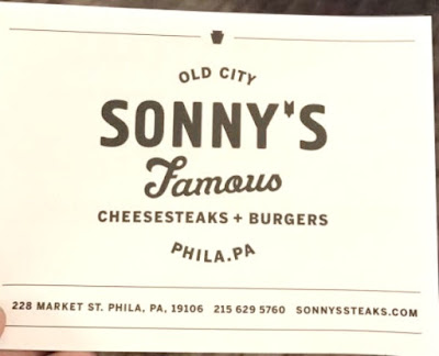 Sonny's Famous Cheesesteaks and Burgers in Philadelphia Pennsylvania