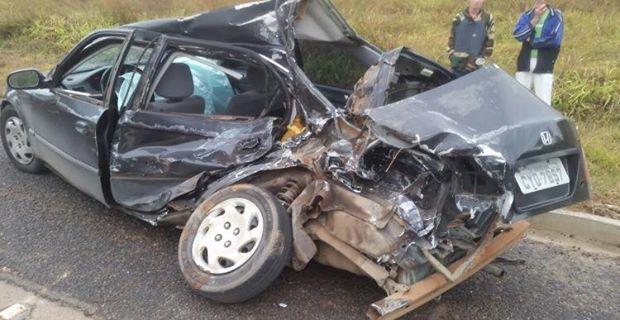 Criança de 7 anos morre em acidente na BR-267, em Campestre (MG)