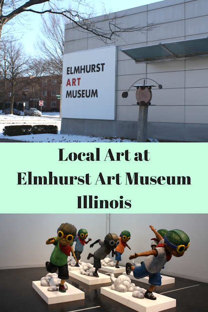 Local Art at Elmhurst Art Museum Illinois