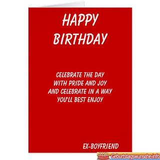 Geburtstagswünsche für Ex Freundin - Geburtstagswünsche Nach Trennung