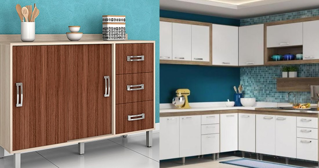 Qual o tipo de armário ideal para minha cozinha? - Amando ...