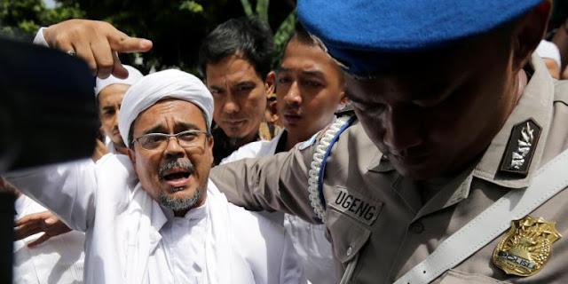 Relawan Ahok Laporkan ke Polisi Rizieq Shihab Tebar Fitnah dan Kebencian Ceramah di Surabaya, FPI Bela Seperti Ini..