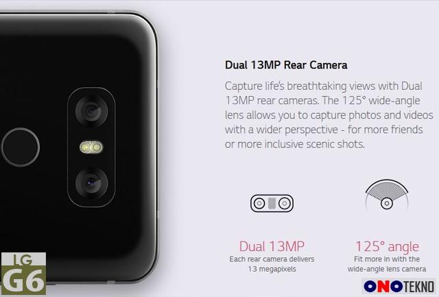 LG G6 Dual Kamera dengan Sony IMX258