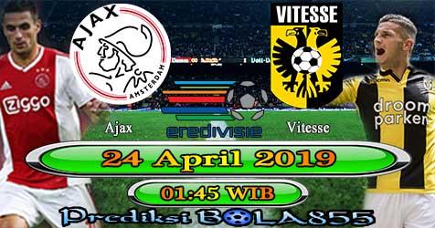 Prediksi Bola855 Ajax vs Vitesse 24 April 2019