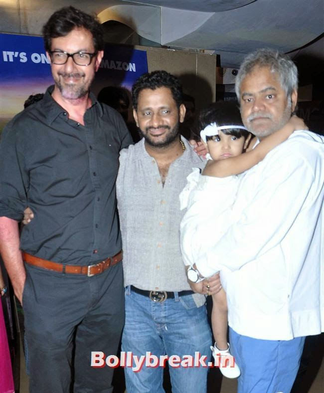 Rajat Kapoor, Resul Pokutty and Sanjay Mishra, Ankhon Dekhi Movie Premiere Pics