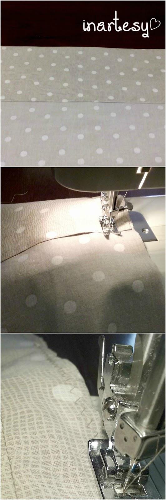 Come cucire una federa per cuscini senza bottoni inartesy - Nozioni di cucito come ricoprire un divano ...