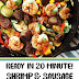 Ready in 20 Minute! Shrimp & Sausage Skillet Paleo Meal