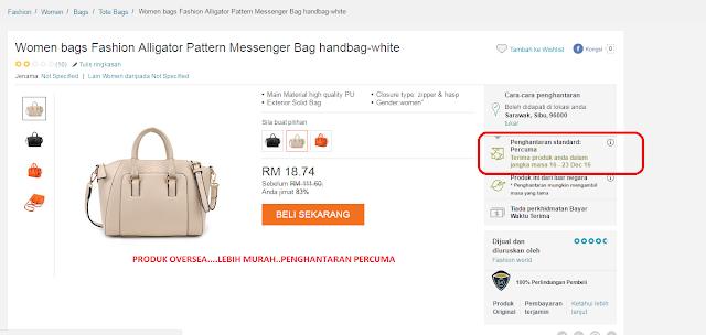 Berbaloi Ke Aku Beli Handbag Kat Lazada Malaysia