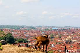 Top view of Abeokuta
