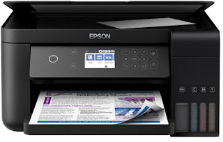 Experience high printing rates of speed in addition to borderless printing for Influenza A virus subtype H5N1 Epson EcoTank ITS L6160 Drivers Download