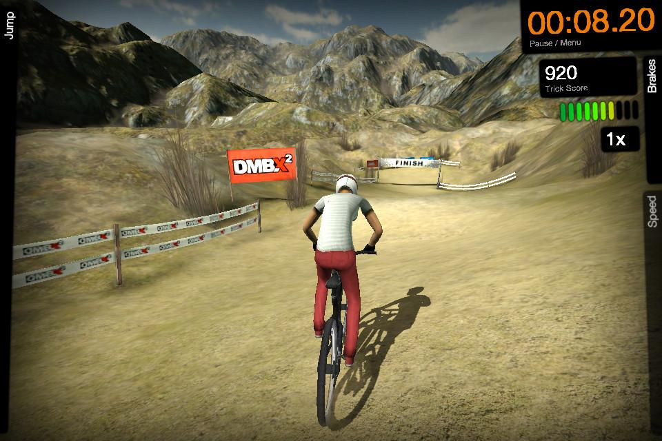 dmbx 2 mountain bike