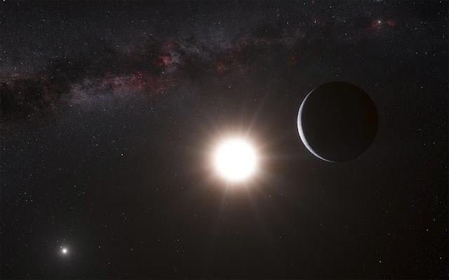 exoplaneta orbitando estrela mãe