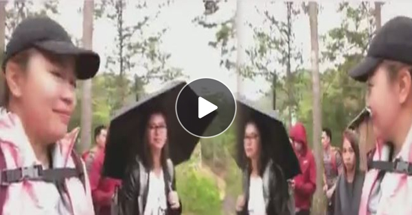 WATCH: Angel Locsin And Her Friends Hiked Towards The Hanging Coffins