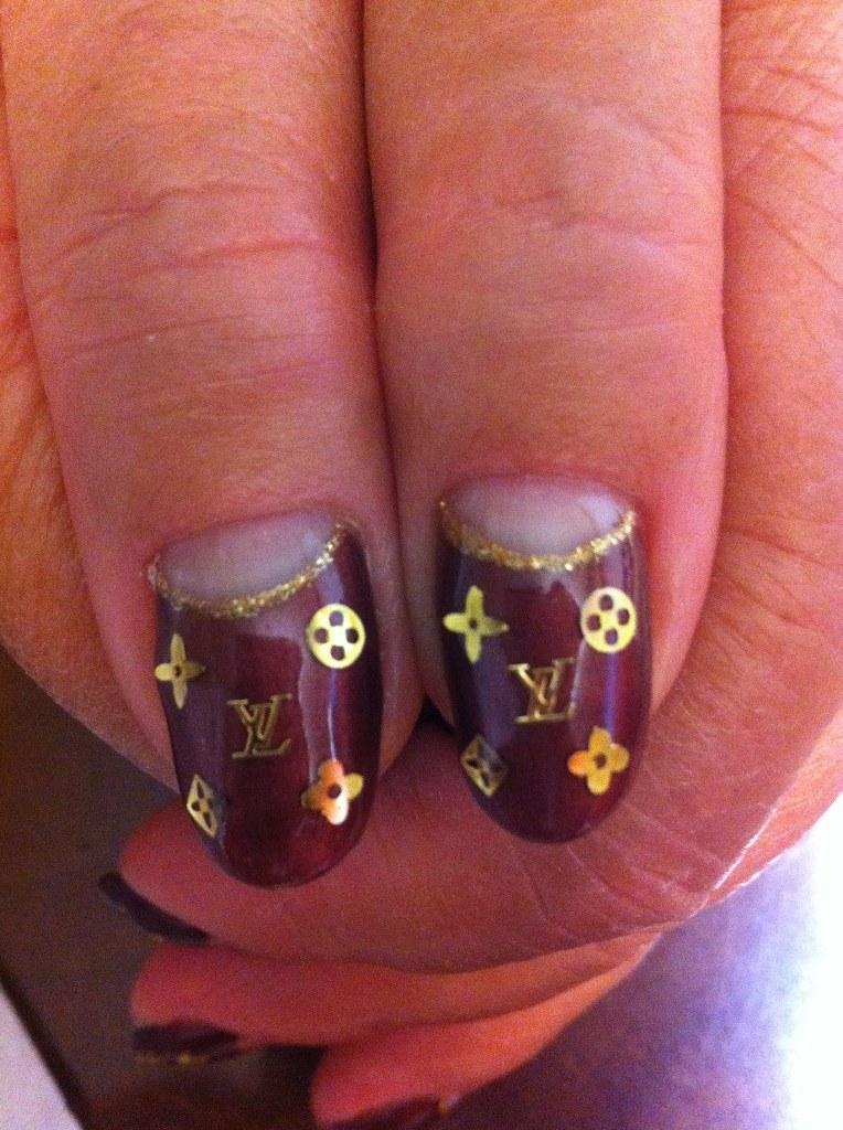 E927nails Louis Vuitton Nails Amp Chanel Nails