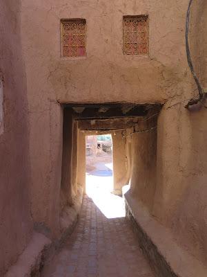 Ksour aledaño en la Kasbah de Taourirt (Ouarzazate)