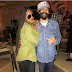 Seyi Shay pictured with Damian Marley