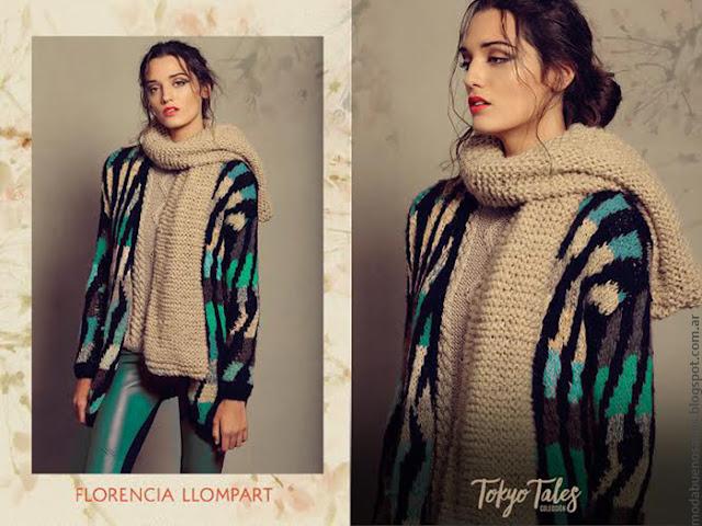 Florencia Llompart tejidos artesanales moda invierno 2016.